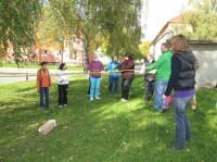 Outdoor aktivita - týmová spolupráce